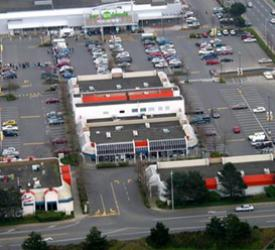 Saanich Plaza site map - Victoria BC
